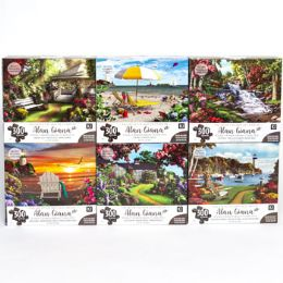 6 Units of Puzzle 300pc Alan Giana - Puzzles
