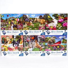 6 Units of Puzzle 1000pc Karen Burke - Puzzles