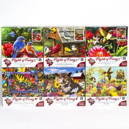 6 Units of Puzzle 550pc Flights Of Fancy - Puzzles
