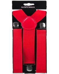 48 of Adult Red Suspender