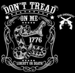 24 Units of Shirt Transfer LIBERTY OR DEATH WITH CREST Don't Tread On - Mens T-Shirts