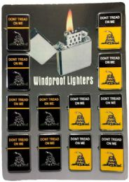 24 Units of Gadsden 2 styles Yellow And Black No Fuel - Lighters