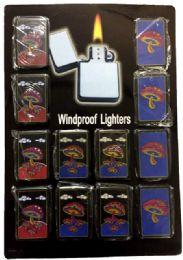 24 Units of Mushroom Refillable Lighter No Fuel - Lighters