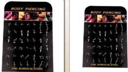 168 Wholesale Body Piercing/ Body Jewelry