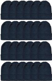 24 Bulk Yacht & Smith Winter Beanies Wholesale Bulk Cold Weather Unisex Hat