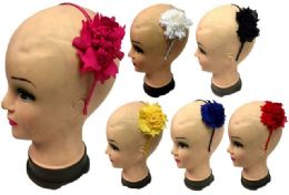 96 Units of Flower Head Band - Headbands
