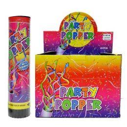 24 Wholesale 6 In Confetti Party Popper