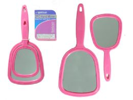 96 Units of 2 Pc Hand Mirrors - Cosmetic Cases