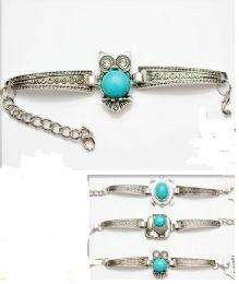 96 Wholesale Metal Bracelet With Animal Shape