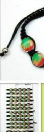 96 Wholesale Marijuana Bracelet