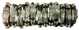 96 Wholesale Faux Leather Zodiac Bracelet Assorted