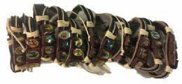96 Wholesale Faux Leather Bracelet Jesus