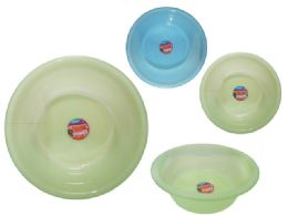 24 Units of Basin 50diax20cm - Buckets & Basins