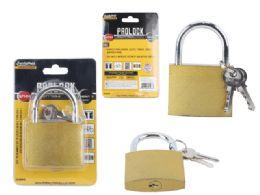 48 Units of Brass Padlock - Padlocks and Combination Locks