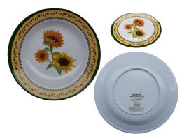 """48 Units of Mela 10"""" Dinner Deep Plate - Plastic Bowls and Plates"""