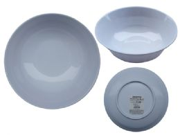 "48 Units of Mela Bowl 9"" - Plastic Bowls and Plates"