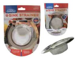 72 Units of Stainless Steel Heavy Duty Strainer - Stainless Steel Cookware