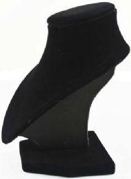 12 Wholesale Black Velvet Jewelry Display Necklaces Neck Forms