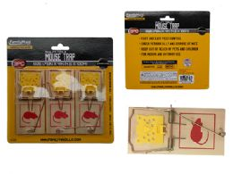 96 Units of Mouse Trap 3pc - Pest Control