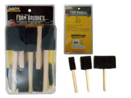 96 of Foam Brushes