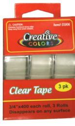 48 Units of Clear Tape - Tape & Tape Dispensers