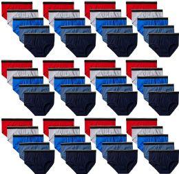 60 of Gildan Mens Briefs, Assorted Colors Size 2XL