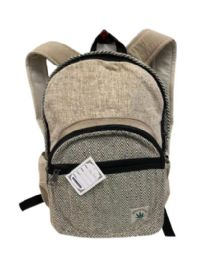 "5 Units of Himalayan Hemp Handmade Backpack - Backpacks 16"""