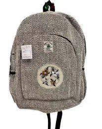 "5 Units of Himalayan Hemp Handmade In Nepal - Backpacks 16"""
