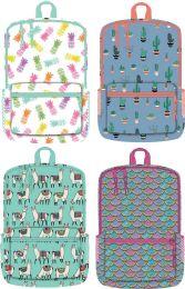 """24 Units of 17 Inch Girls Printed Backpacks - Backpacks 17"""""""