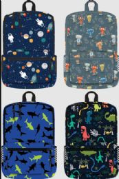 """24 Units of 17 Inch Backpack Assorted Prints - Backpacks 17"""""""