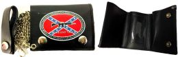 12 Units of Leather Tri-Fold Wallet With Come And Take it Genuine Leather - Leather Wallets