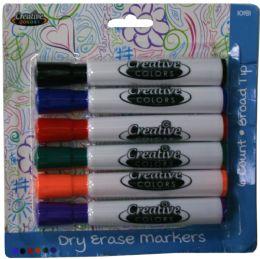 24 Bulk Dry Erase Markers 6ct