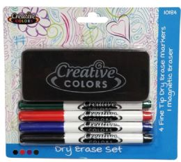 24 Bulk Dry Erase Marker Set