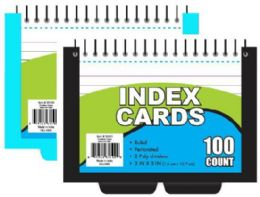 24 Units of Index Cards - Dividers & Index Cards