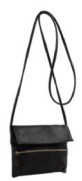 6 Units of Fashion Crossbody Sling Purse With Front Zipper - Shoulder Bags & Messenger Bags