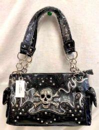 3 Units of Rhinestone Skull Purse - Shoulder Bags & Messenger Bags