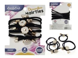 288 Units of 4pc Hair Ties - PonyTail Holders