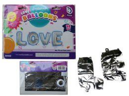 144 Wholesale Love Letter Balloons