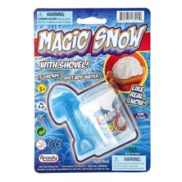 72 Units of Magic Snow - 2 Piece Set - Slime & Squishees