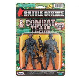 24 Units of Battle Strike Combat Team - 4 Piece Set - Action Figures & Robots