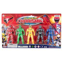 36 Units of Super Warriors - 5 Piece Sett - Action Figures & Robots