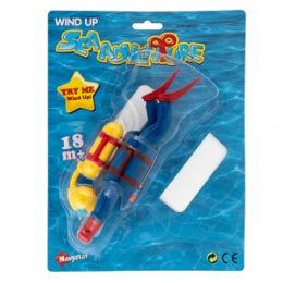 12 Units of Wind-up Sea Adventure Diver - Summer Toys