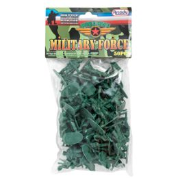 36 of Military Force Soldiers - 50 Piece Set