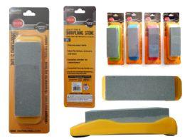 24 Units of Sharpening Stone W/ Holder - Hardware Miscellaneous