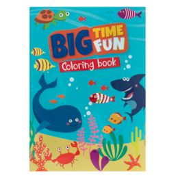96 Units of Big Time Fun Coloring Book - Coloring & Activity Books