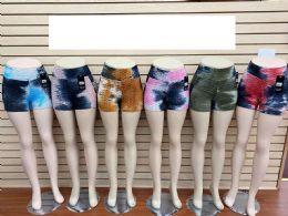 60 of Tie Dye color Bubble Shorts