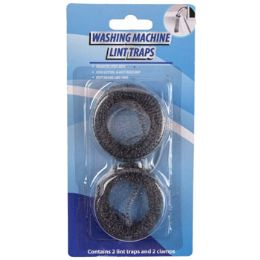 72 Units of Lint Trap Metal Mesh 2pk - Laundry  Supplies