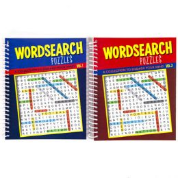 48 Units of Puzzle Book Find A Word Spiral - Puzzles
