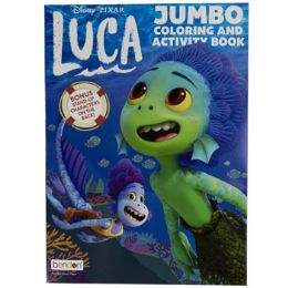 24 Units of Coloring Book Disney Luca - Coloring & Activity Books