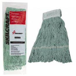 12 Units of Mop Head 24oz Green Skilcraft - Cleaning Supplies